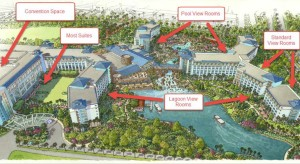 Sapphire Falls Room Locations Map