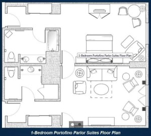 Portofino Parlor Suite