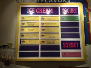 Flavors at Emack & Bolio's