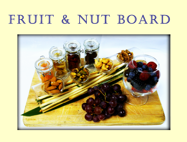 fruit and nut board