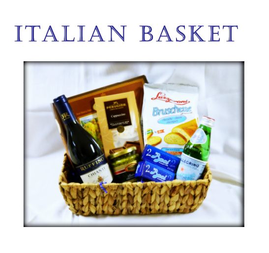 Italian Basket Gift at Portofino Bay Resort