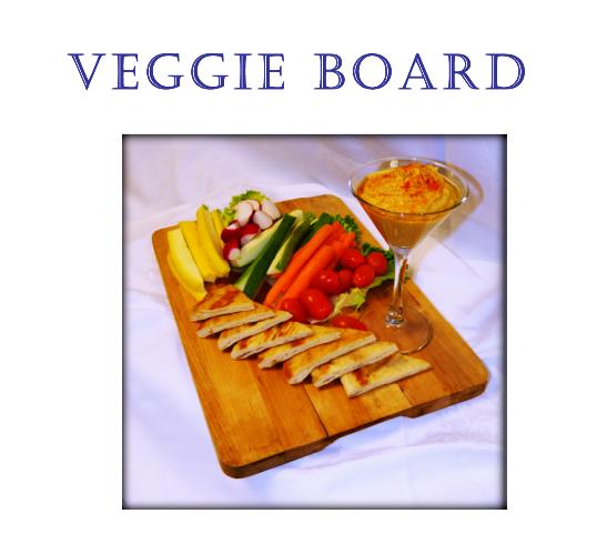Veggie Board at Portofino Bay Resort