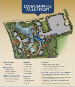 Sapphire Falls Property Map showing Pet Area