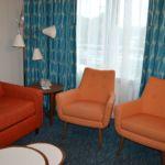 Cabana Bay Beach Resort Courtyard Family Suite Sitting Area