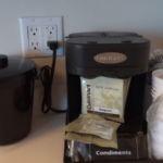 Cabana Bay Beach Resort Family Suite Cuisinart Coffee Maker