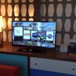 Cabana Bay Beach Resort Family Suite Living Room TV