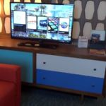 Cabana Bay Beach Resort Family Suite Living Room Storage