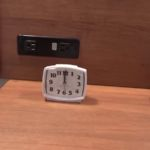 Cabana Bay Beach Resort Family Suite Bedroom Clock