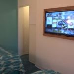 Cabana Bay Beach Resort Family Suite Bedroom Television