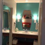 Cabana Bay Beach Resort Family Suite Bath Area