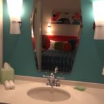 Cabana Bay Beach Resort Family Suite Sink Area