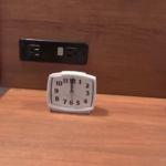 Cabana Bay Beach Resort Standard Room Clock