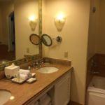 Portofino Bay Resort Villa Room Vanity