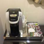 Portofino Bay Resort Villa Room Coffee Area