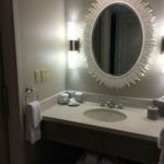 Royal Pacific Resort Renovated Room Sink Area
