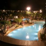 Sapphire Falls Resort Pool at Night