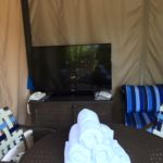 Cabana TV at Sapphire Falls Resort Pool