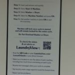 Sapphire Falls Laundry Instructions