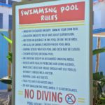 Pool Rules at Sapphire Falls Resort