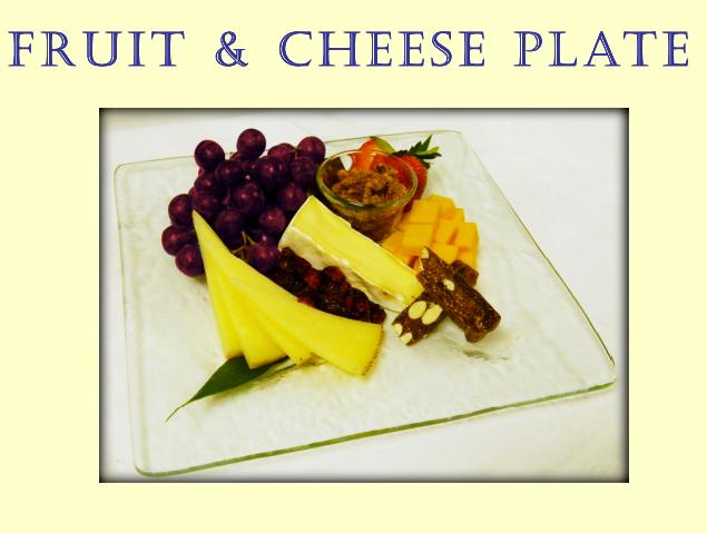 Fruit and Cheese at Portofino Bay Resort