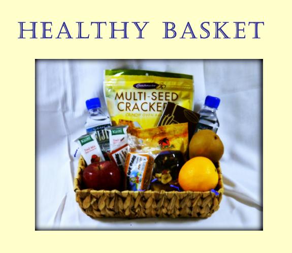 Healthy Basket Gift at Portofino Bay Resort