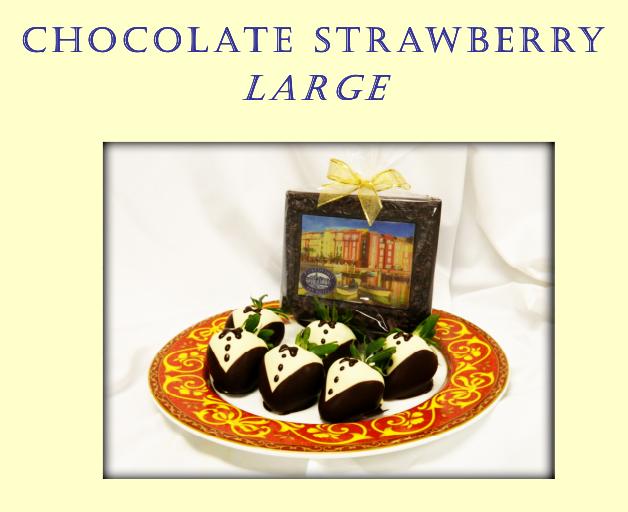 Large Chocolate Covered Strawberries at Portofino Bay Resort