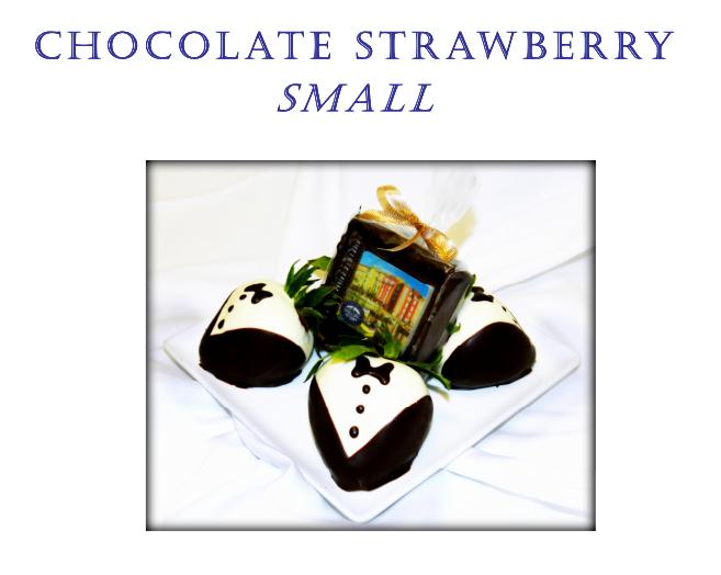 Chocolate Covered Strawberries at Portofino Bay Resort
