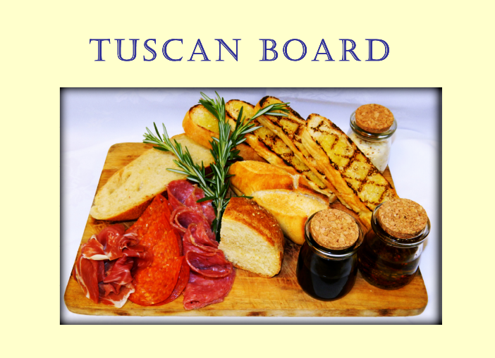 Tuscan Board at Portofino Bay Resort
